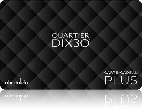 Quartier Dix 30 gift card