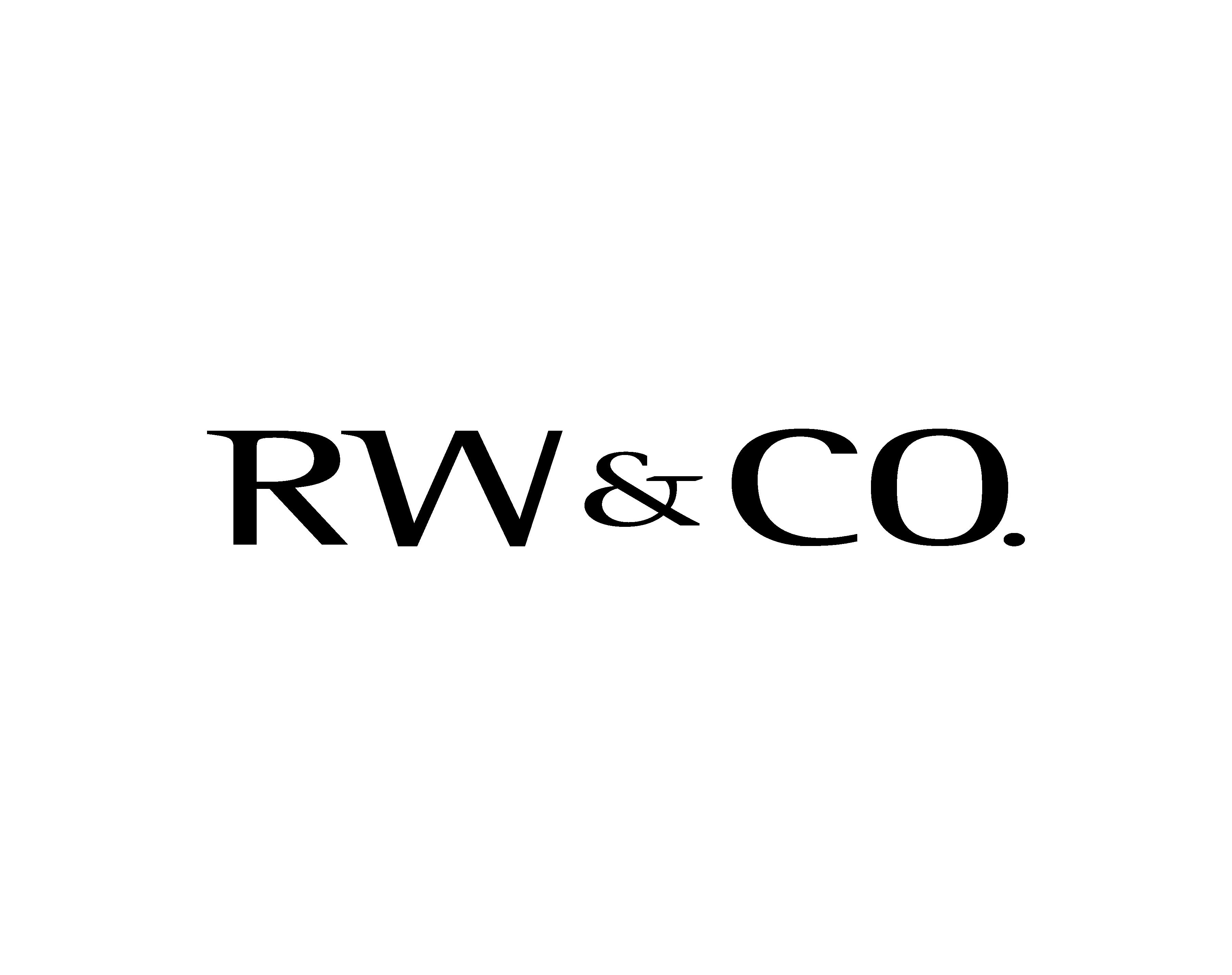 RW & Co. logo