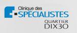 Clinique des spécialistes DIX30 logo