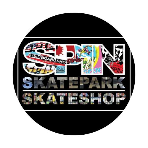 Spin Skate Park logo